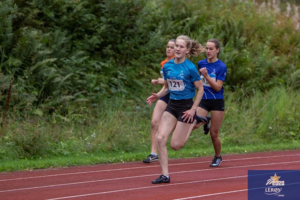 2x gull til Emma Hagen under Lerøy-lekene 2020 laurdag